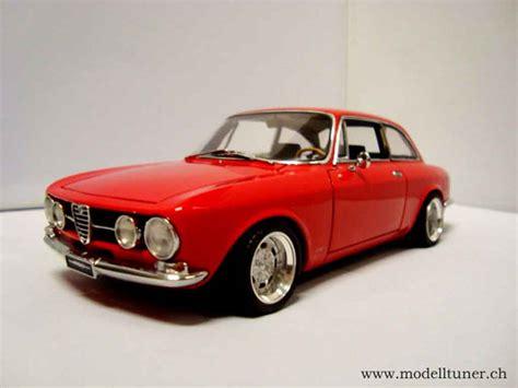 Alfa Romeo 1750 Gtv Miniature 1967 Rouge Jantes Alu 13
