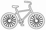 Sepeda Coloring Bike Sketsa Gambar Cartoon Printable Easy Sheets Ride Mewarnai Learn Learning Coloringpagesfortoddlers Number sketch template
