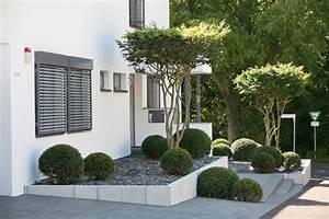 Die Schönsten Gartenbäume : puristischer vorgarten eingangsbereich u vorgarten ~ Michelbontemps.com Haus und Dekorationen