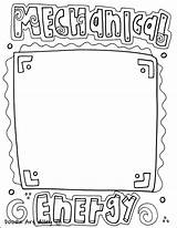 Energy Coloring Mechanical Printables Printable sketch template