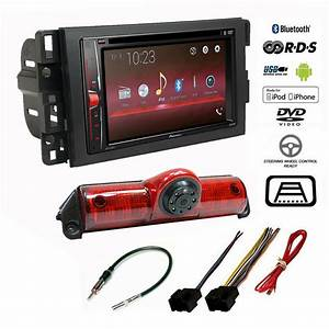 Pioneer Double Din Usb Radio Backup Camera Chevy Express