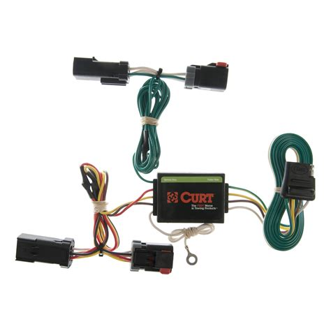 Trailer Wiring Harness by Curt Custom Vehicle To Trailer Wiring Harness 55382 For