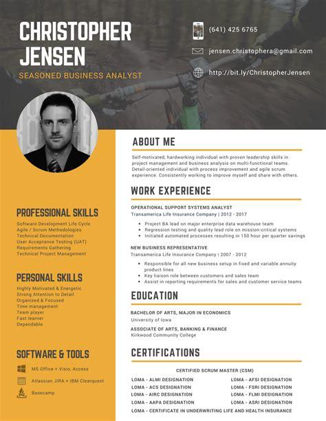 custom professional resume design services orlando