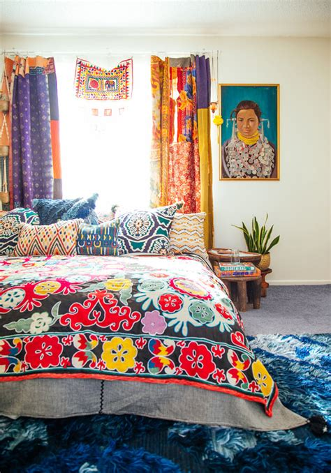 bohemian bedroom inspiration      summer