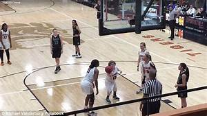 Moment special needs girl scores during basketball game ...