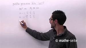 Größter Gemeinsamer Teiler Berechnen : gr ter gemeinsamer teiler ggt und wie man ihn bestimmt beispiel 1 youtube ~ Themetempest.com Abrechnung