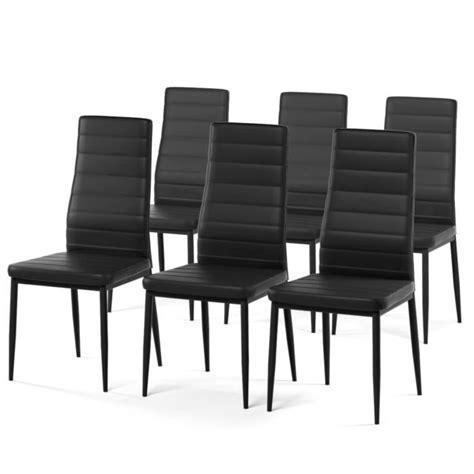 chaises salle à manger pas cher chaise salle a manger pas cher lot de 6 valdiz
