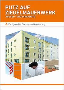 Putz Auf Rigipsplatten : s dwest ziegel gmbh ziegel putz empfehlungen ~ Michelbontemps.com Haus und Dekorationen