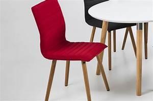 Chaise Tissu Design : table basse style nordique en bois ronde v n setti ~ Teatrodelosmanantiales.com Idées de Décoration