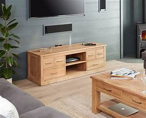 Mobel Solid Oak Widescreen Television Cabinet COR09B