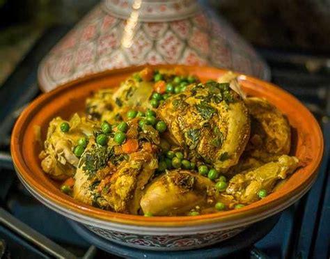 recette tajine de poulet aux legumes simple  delicieux
