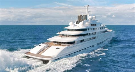 Biggest Boat In The World List by World S Largest Yachts Boats