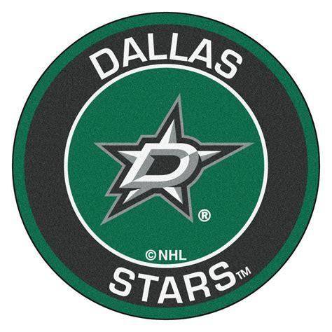 FANMATS NHL Dallas Stars Black 2 ft. x 2 ft. Round Area ...