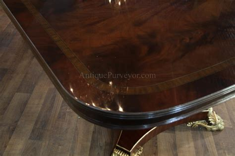 Extra Large And Wide High End American Made Mahogany