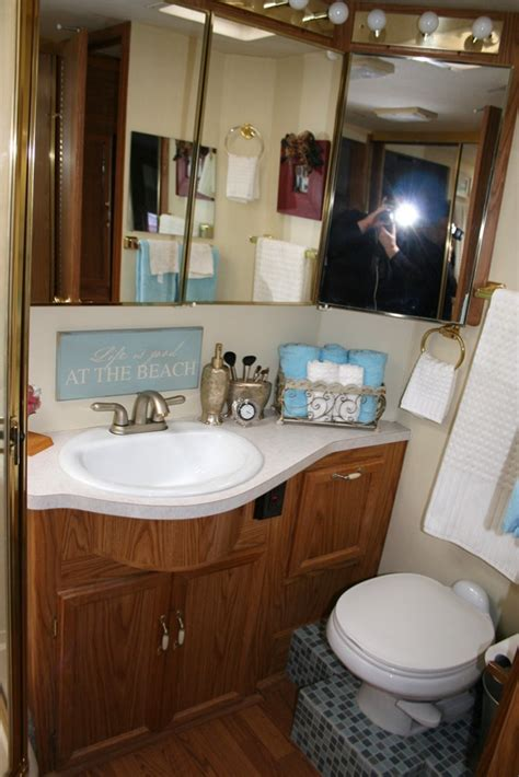 rv remodel of bathroom basic components parts and
