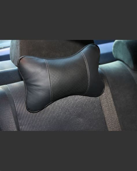 Genuine Leather Car Neck Cushions For Audi Bmw Jaguar