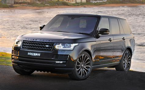 range rover vogue se black design pack au wallpapers  hd images car pixel
