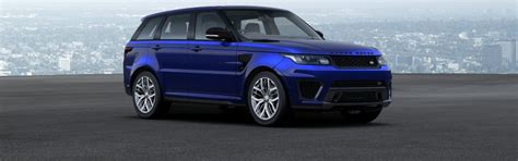 blue land rover range rover sport colours guide carwow