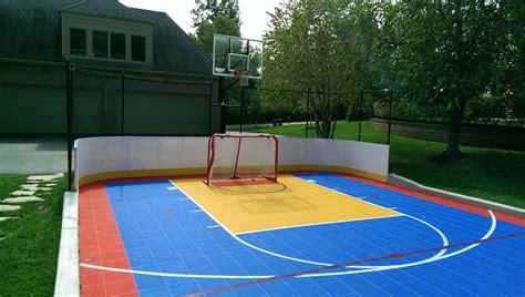 Backyard Multi-sport Game Court