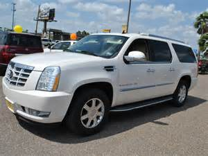 2007 Cadillac Escalade ESV White