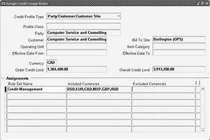 Oracle order management implementation manual for Sales customer profile template