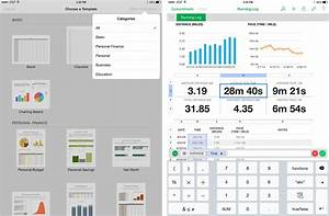 Iwork vs microsoft office vs google docs which ipad and for Google docs spreadsheet vs excel