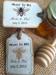 meant to bee honey wedding favors With honey bee wedding favors