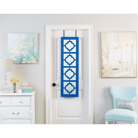 Blue Jewelry Armoire by Innerspace Luxury Products Blue Designer Jewelry Armoire