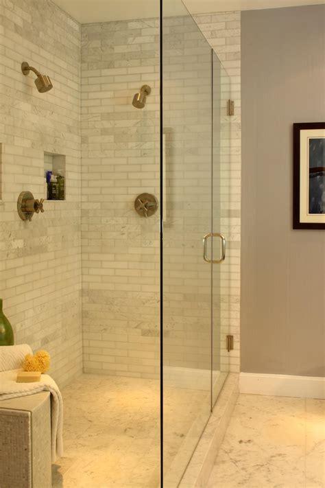 shower with subway tile designing subway tile shower installation midcityeast