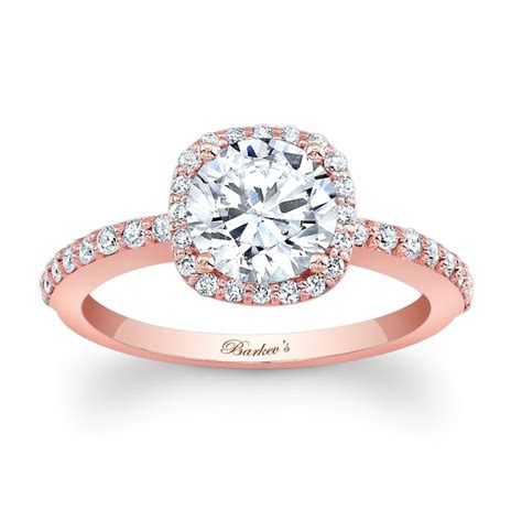 barkev s rose gold engagement ring 7838lp