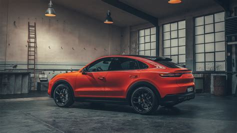porsche cayenne turbo coupe    wallpaper hd car
