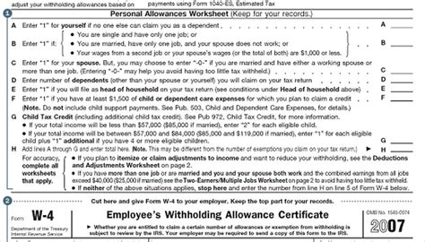 How To Fill Out The W-4 Form