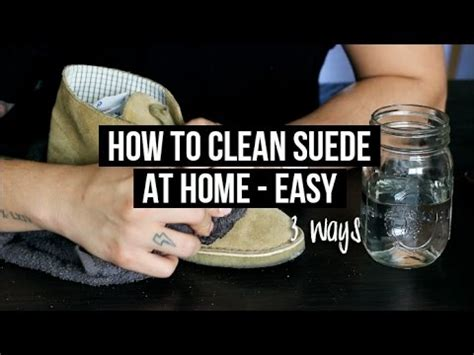 How To Clean & Maintain Suede Shoes (at Home)  3 Easy