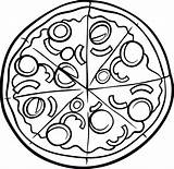 Pizza Coloring Hut Pages Printable Drawing Clipart Sketch Getdrawings Clipartmag Neat Getcolorings sketch template