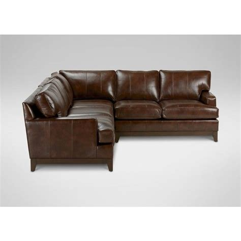 ethan allen leather sofa bed 17 best images about for the home on black