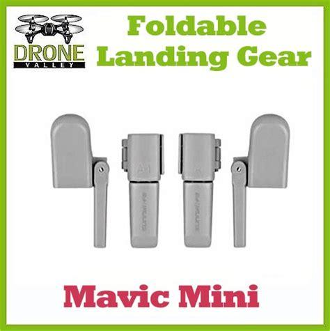 mavic mini foldable landing gear