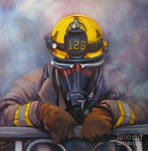propane wall smoke jumper 126 painting by pat burns