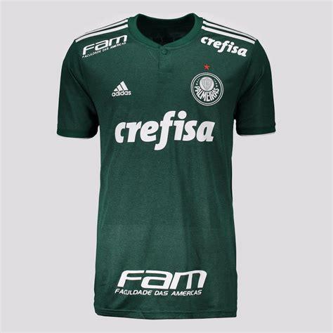 Camisa Adidas Palmeiras I 2018 N° 10 - FutFanatics