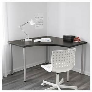 Ikea Tischplatte Linnmon : linnmon corner table top black brown 120 x 120 cm ikea ~ Eleganceandgraceweddings.com Haus und Dekorationen