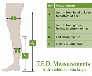 Compression Hosiery Sizing Guide