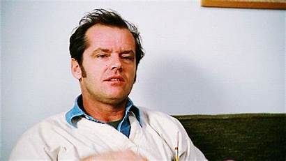 Jack Nicholson Flew Ratched Nest Nurse Mcmurphy