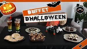 Buffet Halloween : buffet d 39 halloween diy facile et pas cher youtube ~ Dode.kayakingforconservation.com Idées de Décoration