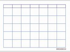 Blank calendar grid 2016 to print pdf and excel forms