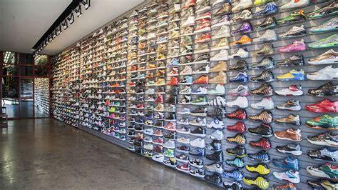 las biggest streetwear  sneaker resellers racked la