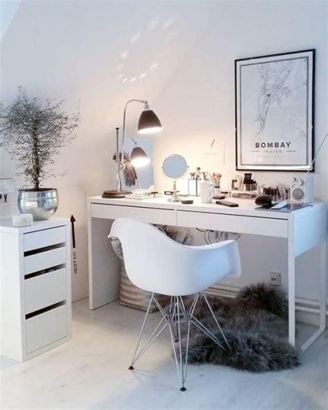 desk and vanity combo ideas 20 ways to use ikea micke desk in your interior