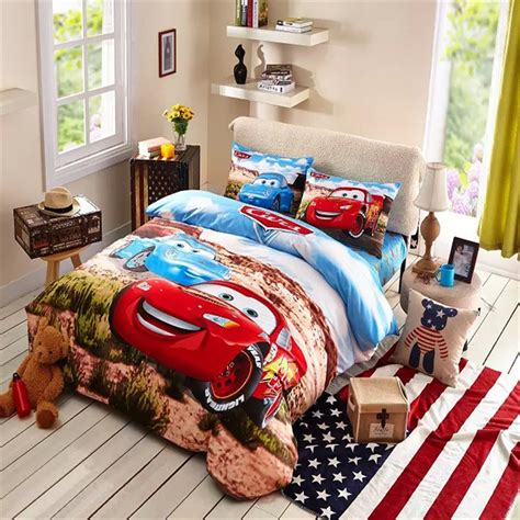 twin bed sets for boy child cars bedding set boys sports bedding soft 19998