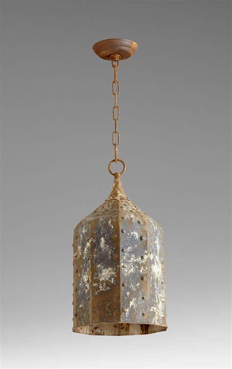 large lantern pendant light large collier 1 light rustic pendant light by cyan design