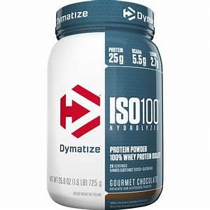 Dymatize Iso 100 Hydrolyzed Whey Protein  Gourmet Chocolate