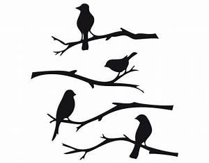Pusteblume Schwarz Weiß Vögel : wandtattoo v gel ~ Orissabook.com Haus und Dekorationen