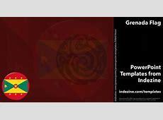 Grenada Flag 02 PowerPoint Templates